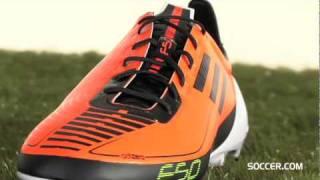 adidas F50 adizero Prime TRX FG - Warning/Black/White Firm Ground Soccer Shoes