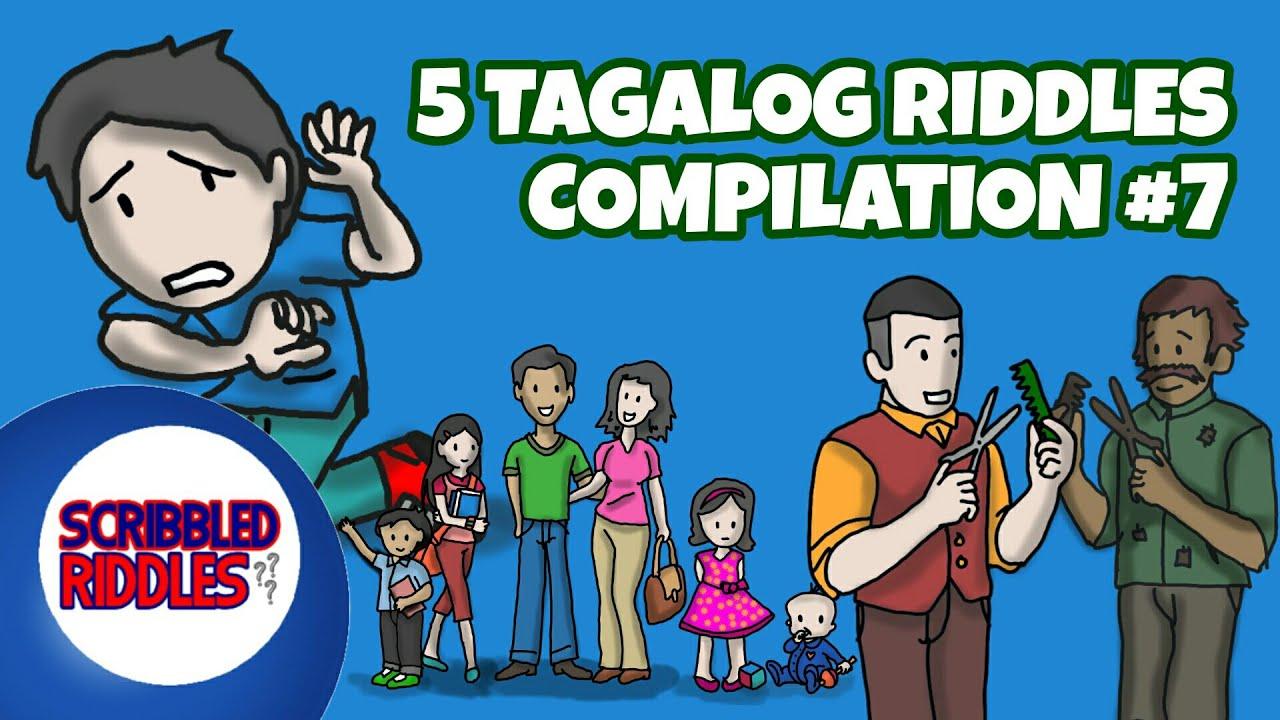 5 Tagalog Riddles Compilation 1 Youtube