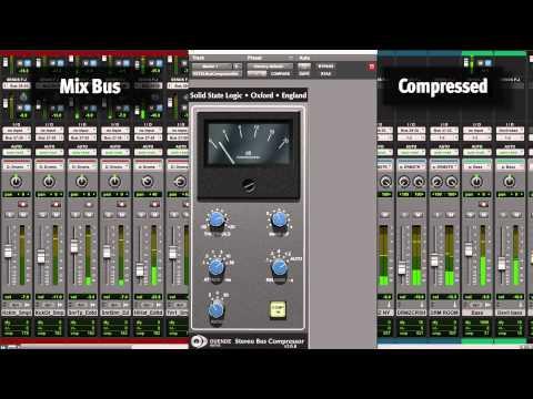SSL Bus Compressor - Duende Native Plug-in