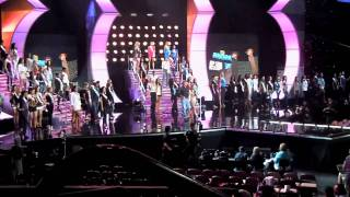miss universe 2010 opening rehearsal commander
