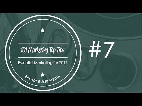 101 Marketing Tips - 07 Interact online