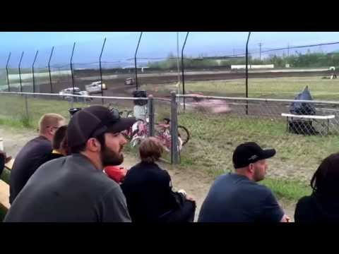 6-20-2015 Dirt Modified-Late Model Feature, Dirt Shootout Day 2, Mitchell Raceway, Fairbanks, AK