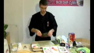 Приготовление суши.avi