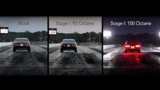 APR S8 Quarter Mile Comparison - Stock vs APR Stage I