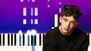 The 1975 - Me & You Together Song (Piano tutorial)