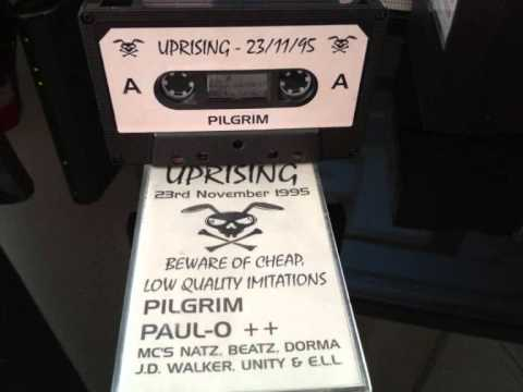 Uprising DJ Pilgrim 23-11-95 MC JD Walker & ELL