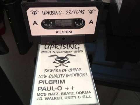 Uprising DJ Pilgrim 23-11-95 MC JD Walker & ELL