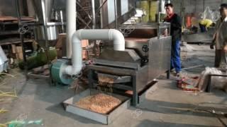 Оборудование для пилинг кожи арахиса и  резки с половиной