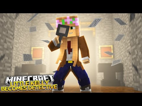 Minecraft - LITTLE KELLY BECOMES A DETECTIVE! (FaceCam)