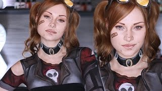 gaige borderlands 2 makeup hair cosplay tutorial