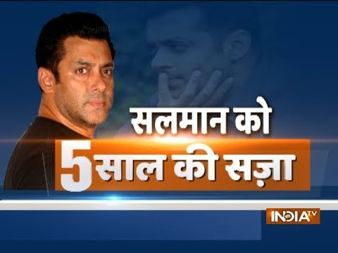 Blackbuck poaching case: Salman Khan convicted; likely to be kept in barrack no 1 of Jodhpur jail