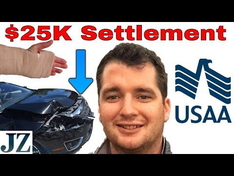 $25K USAA Settlement (Herniated Disc, Back, Neck, Shoulder, Hand Pain)
