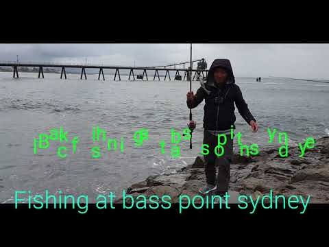 1st Black Fishing VLOG Video At Bass Point WOLLONGONG