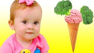 Maya y Mary | Cancion Infantil -  ¿Te Gusta El Helado De Brócoli?