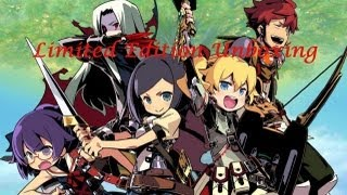 Etrian Odyssey 4 : Legends of the Titan Unboxing
