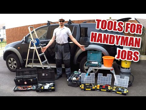 What do I take on Handyman Jobs?? Handyman tools you'll need!