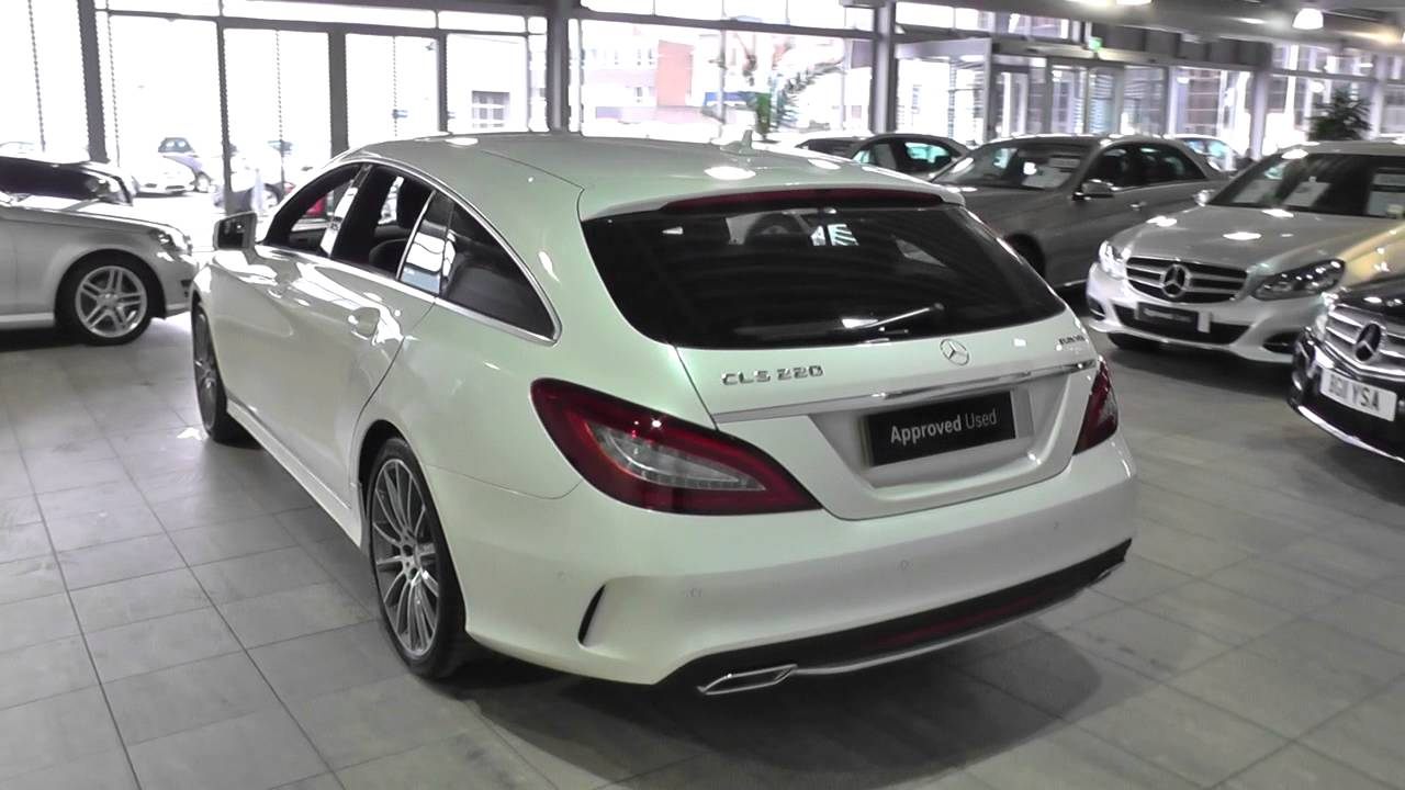 mercedes benz cls shooting brake cls 220 bluetec amg line u42737 youtube. Black Bedroom Furniture Sets. Home Design Ideas