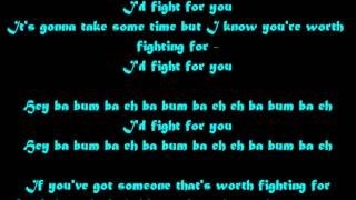 Jason Derulo- Fight For You Lyrics