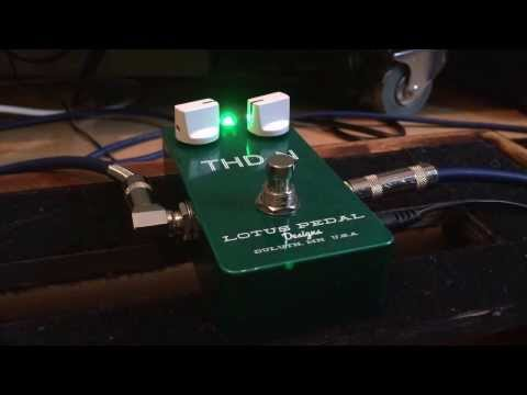 Lotus Pedals - THD+N (Total Harmonic Distortion + Noise) played with a Strat