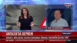 Antalya'da iki gün üst üste deprem oldu