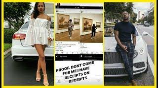Jasmine Pulls Out Receipts that Prettyboyfredo Cheated