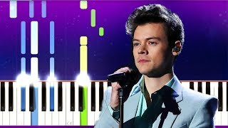 Harry Styles - Falling (Piano Tutorial)