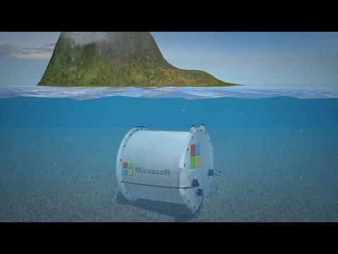 Microsoft's underwater data centers
