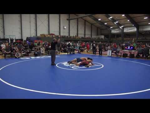 2017 Washington State Freestyle Tournament SEMIFINALS Daniel Snediker vs Eric Contreras