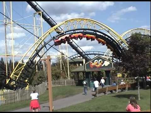 Silverwood Theme Park Tremors Timber Terror Roller Coaster Athol Idaho
