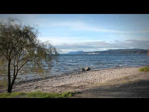 Volcanic Lake Taupō - roadside stories