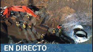 RESCATE EN DIRECTO JULEN Operación de rescate en el pozo de Totalán (Málaga) HD 720p