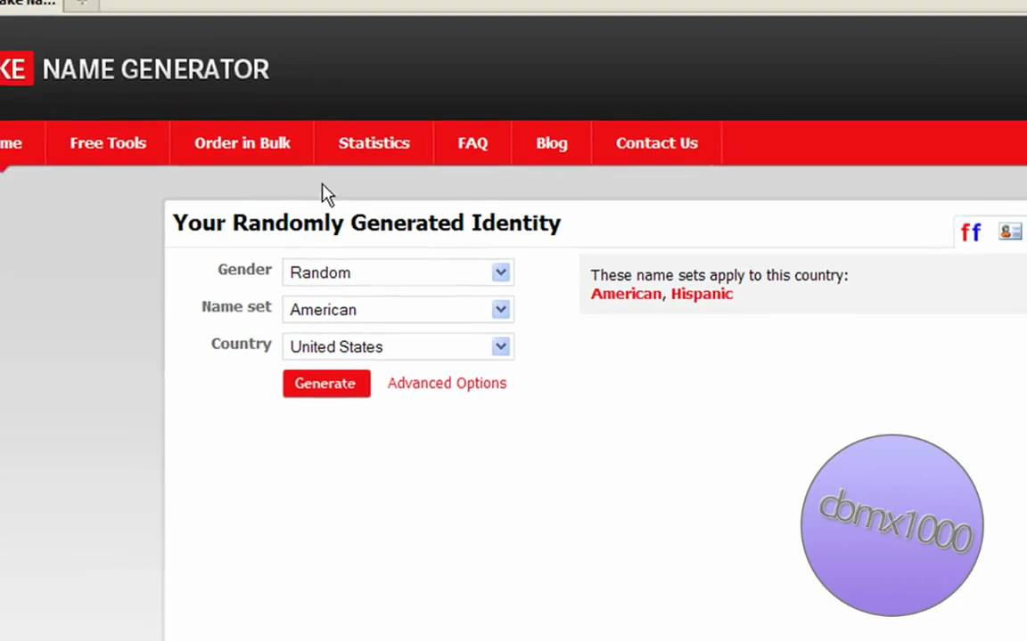 For Youtube - Surveys Online Name Fake Generator great