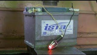 car battery vs hydraulic press