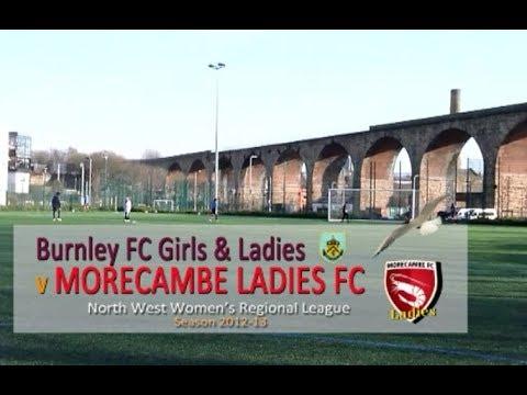 2013 02 17 Burnley FC G&L  2 v 10 Morecambe Ladies FC NWWRL