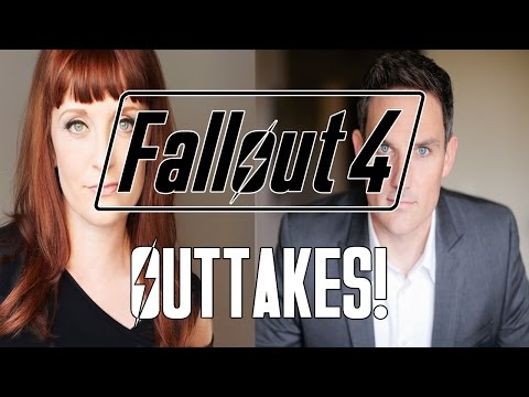 FALLOUT 4 Outtakes w Brian Delaney & Courtenay Taylor!