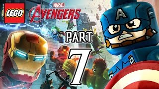 LEGO Marvel's Avengers Walkthrough PART 7 (PS4) Gameplay No Commentary  @ 1080p HD ✔