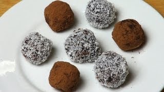Chocolate Fruit Cake Truffles - Christmas Recipe