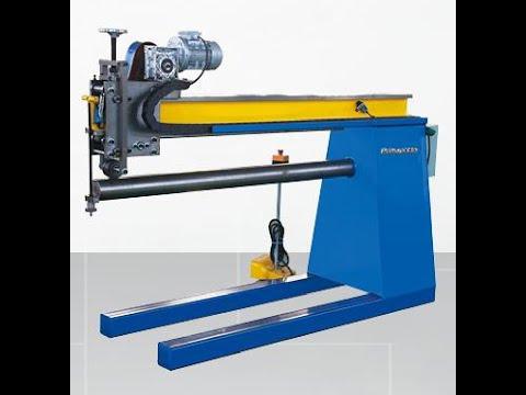 Prima duct pipe round duct seam closing machine,hvac air round duct zipper