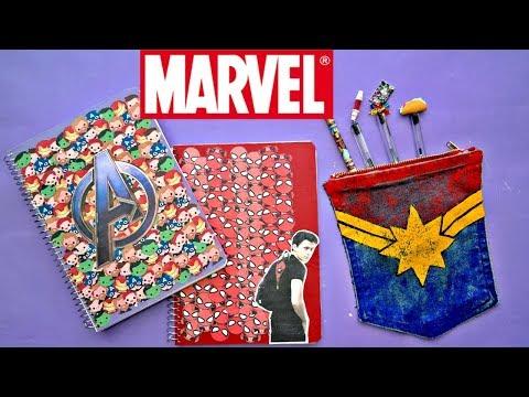 Útiles Escolares Fandom / DIY Avengers Endgame | Ame Mayén