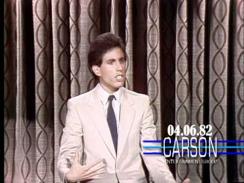 Jerry Seinfeld's First Appearance on Johnny Carson's Tonight Show