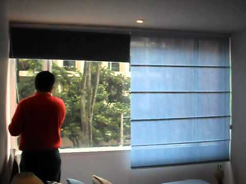 05 CORTINAS ROMANAS - YouTube