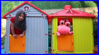 Pretend Play With My Toys and Colored Wheels - Funny Kids Video