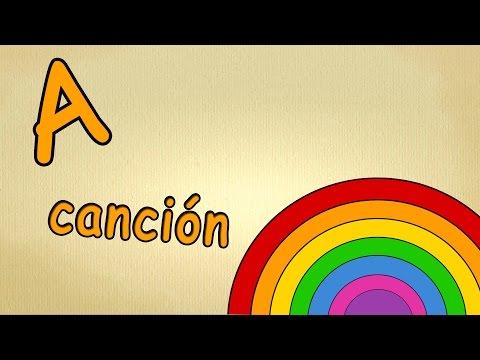 musica para estudiar español - la letra A - alfabeto en español para niños cancion