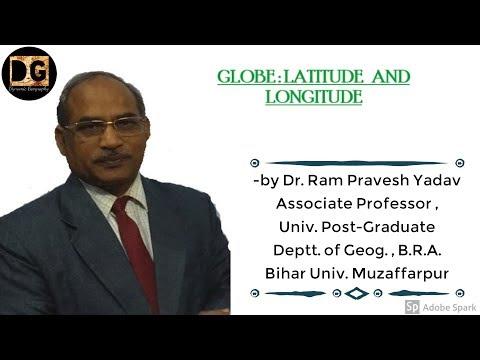 Globe- Latitude- Longitude