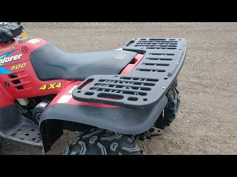 Lot 10 1997 Polaris 4 wheeler. Dakota State Fair Speedway online only auction. Huron SD