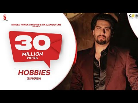 Singga  Hobbies  Official Video Song  Mofusion  New Punjabi Songs 2019  Ditto Music