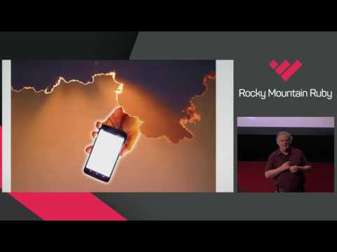 Rocky Mountain Ruby 2016 - Stop Writing Web Apps and Change the World by Dave Thomas