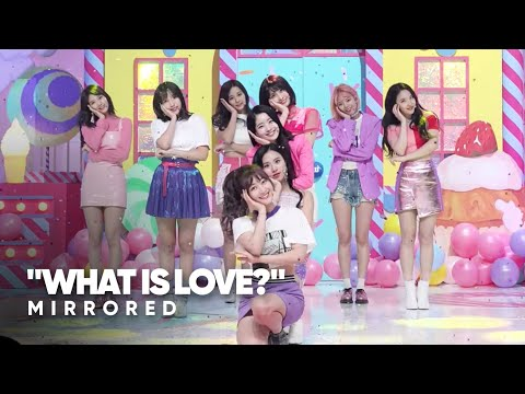 TWICE 'What Is Love?' Dance Mirror (Stage)