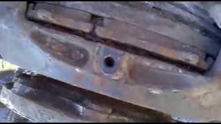 Снятие передних колодок камаз 4308 (1)