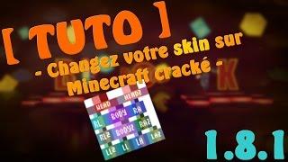 """[Tuto] - Comment changer son skin sur Minecraft cracké 1.9 """"Toutes versions"""" - Fr"""
